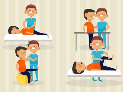康复技术专业-康复治疗小漫画