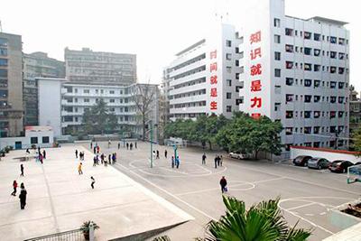 四川省达州中医学校环境